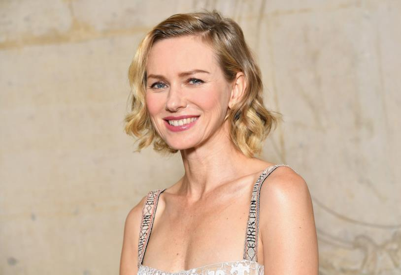 Naomi Watts in uno scatto in Dior