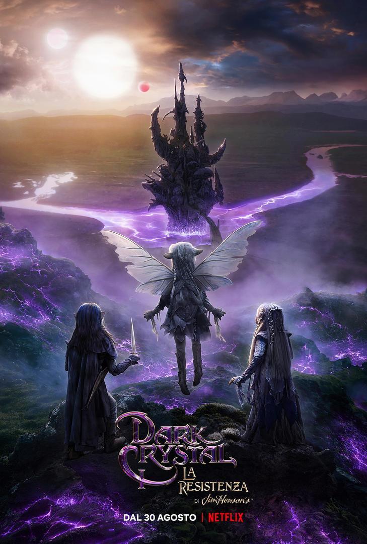 La locandina di Dark Crystal: La Resistenza