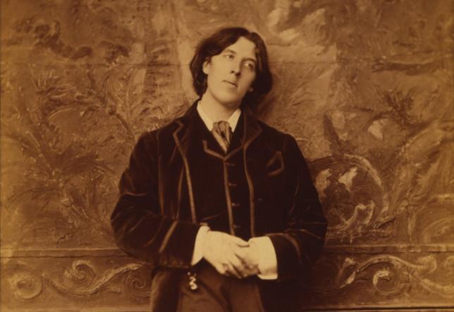 Un ritratto di Oscar Wilde