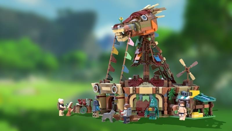 Lo stallaggio di Zelda per LEGO Ideas