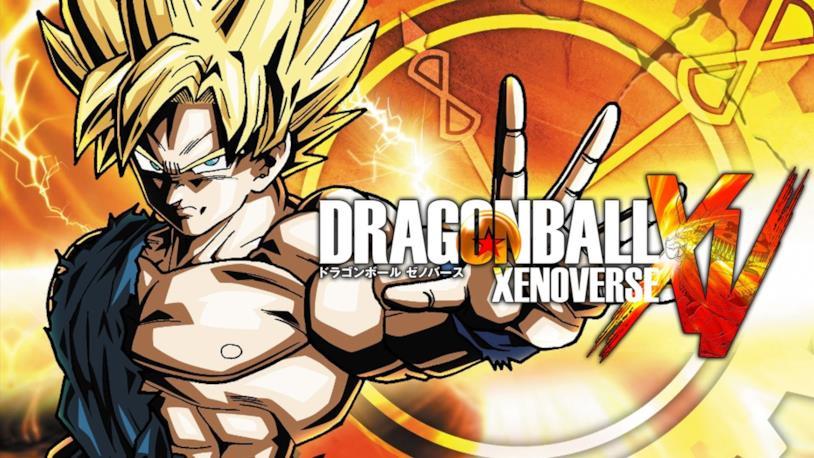 La cover ufficiale di Dragon Ball Xenoverse