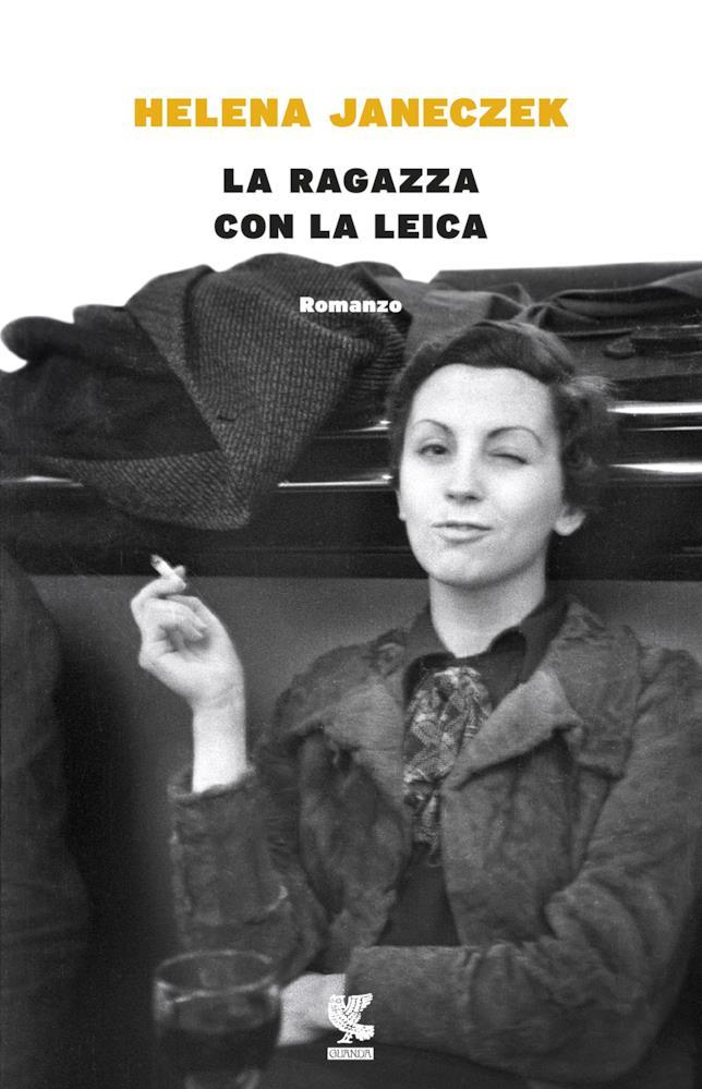 La copertina italiana di La ragazza con la leica