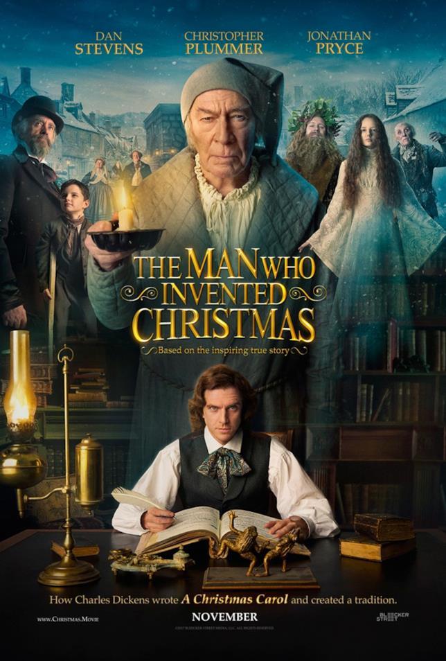 Il poster originale di L'uomo che inventò il Natale, da novembre al cinema