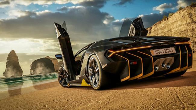 Una delle vetture presenti in Forza Horizon 3