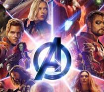 Un primo piano di Chris Evans in uno spot di Avengers: Endgame