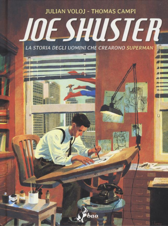 Cover di La storia degli uomini che crearono Superman