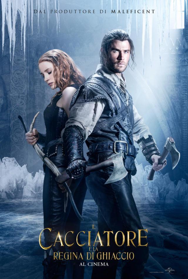 Poster degli amanti de Il Cacciatore e la Regina di Ghiaccio