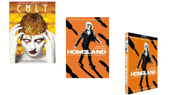 American Horror Story 7 e Homeland 7 - Home Video