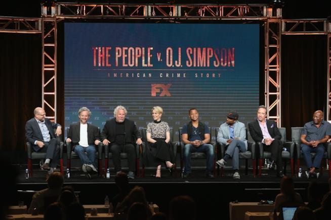 Il cast di American Crime Story al Summer TCA Tour