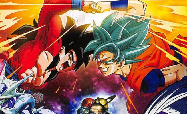 Goku Super Saiyan 4 e Goku Super Saiyan Blu pronti a scontrarsi