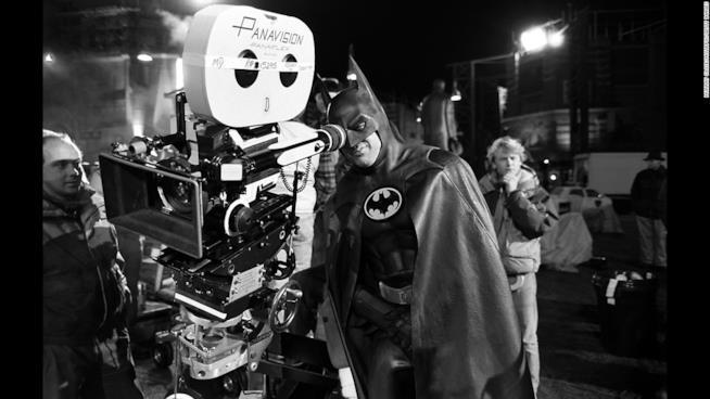 Michael Keaton dietro le quinte di Batman