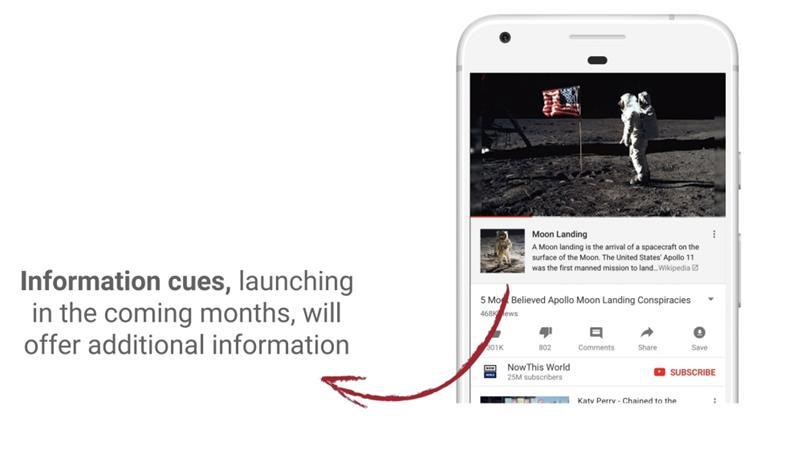 Il nuovo tool di YouTube in collaborazione con Wikipedia che apparirà nei video contetenti fake news