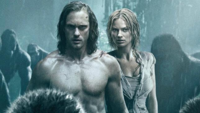 I protagonisti di The Legend of Tarzan