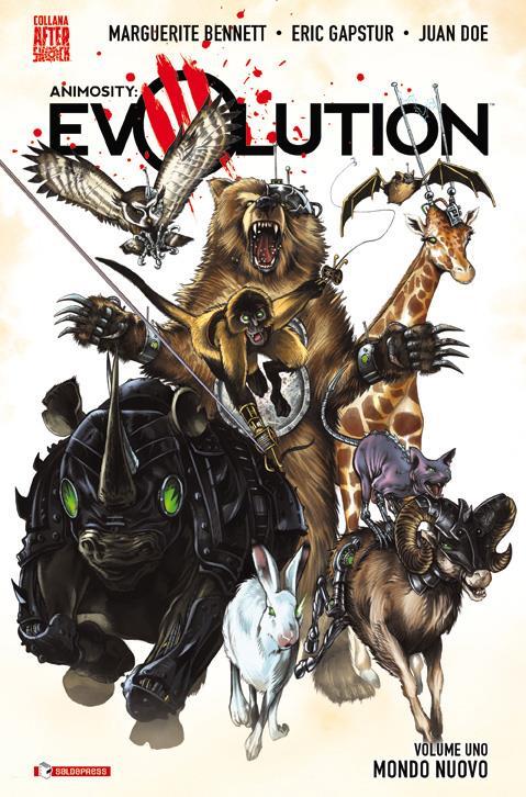 Cover di Animosity Evolution