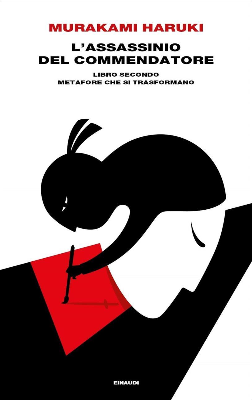 La copertina italiana di L'assassinio del Commendatore. Libro secondo