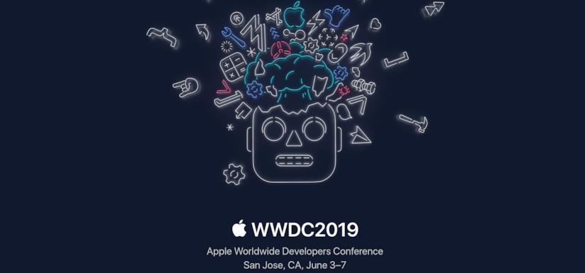 Il banner di Apple per la WWDC2019