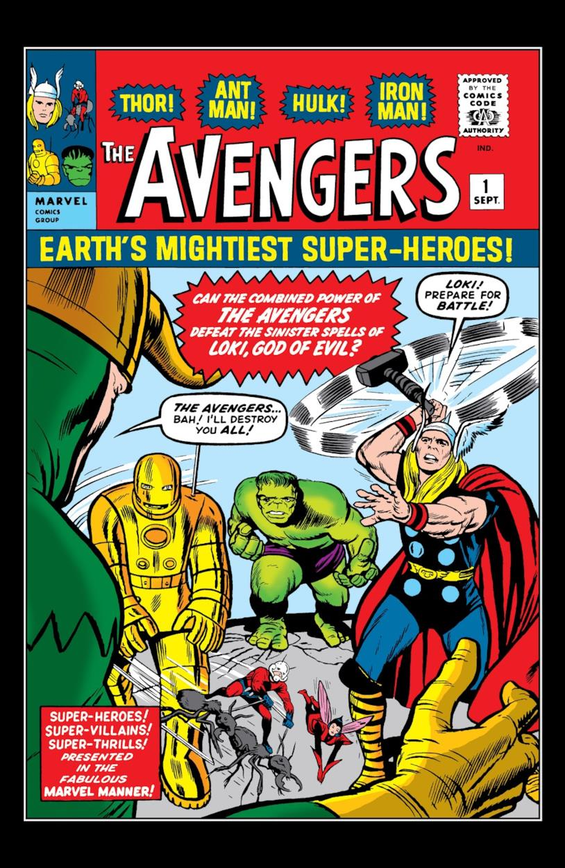 Iron Man, Hulk, Thor, Ant-Man and the Wasp affrontano Loki nel primo numero di The Avengers