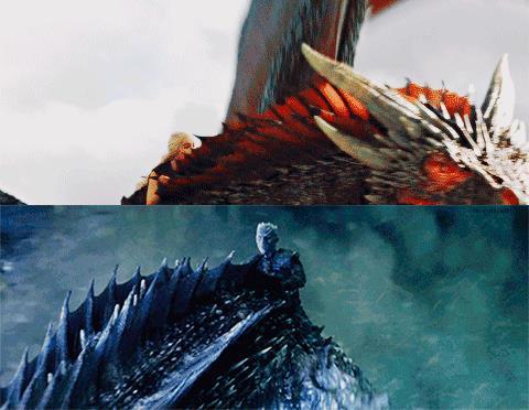 Dany e il Re della notte: fuoco e ghiaccio