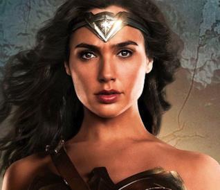 Wonder Woman in una scena da Justice League