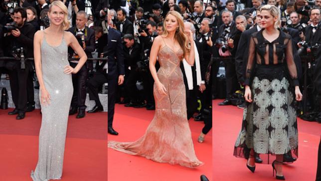 Naomi Watts, Blake Lively e Kristen Stewart a Cannes 2016