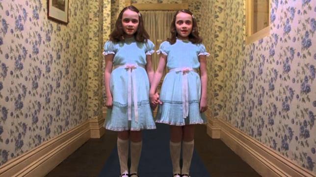 Le gemelle di Shining nel film