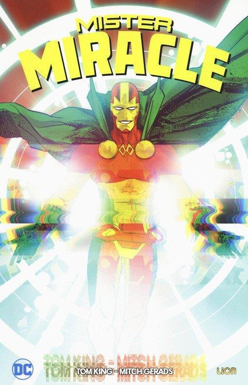 Copertina del primo volume che raccoglie la miniserie di Mr. Miracle