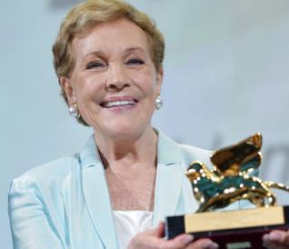 Venezia 76: Julie Andrews riceve il Leone d'Oro alla carriera