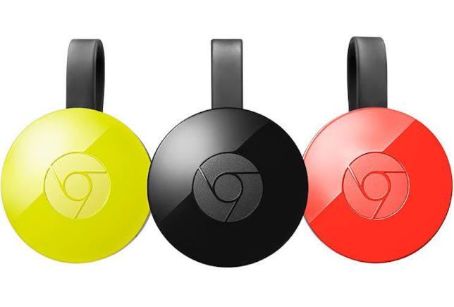 Le differenti versioni di Chromecast
