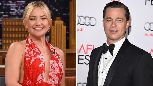 Kate Hudson al The Tonight Show e Brad Pitt a un evento ufficiale