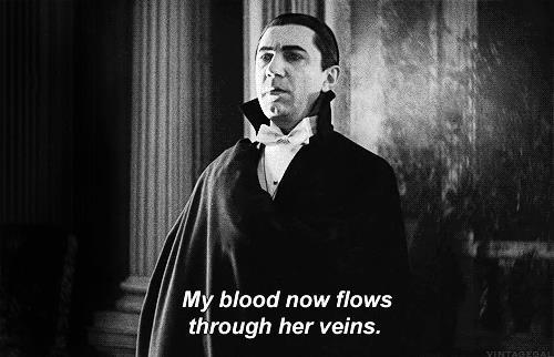 Dracula in primo piano