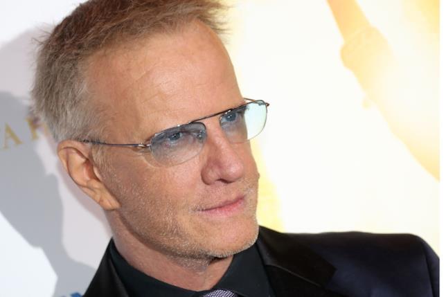 L'attore Christopher Lambert, protagonista de La Voce del Lupo