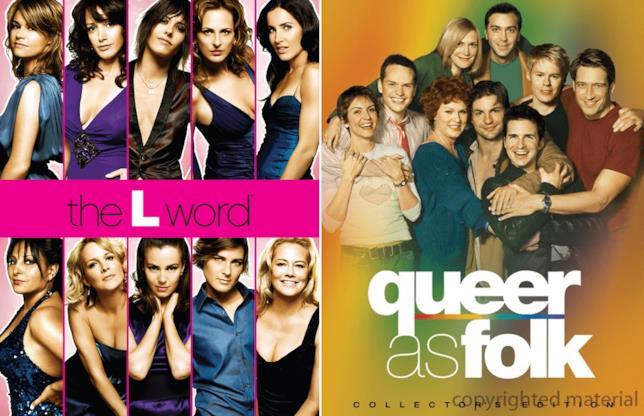 Il cast di The L Word e Queer as Folk nei poster promozionali