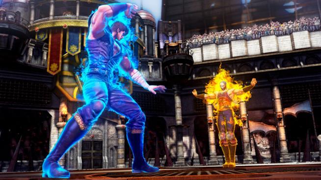 Kenshiro combatte su PlayStation 4