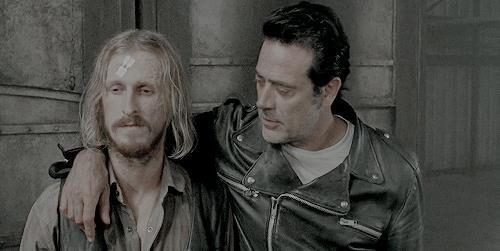 Negan e Dwight
