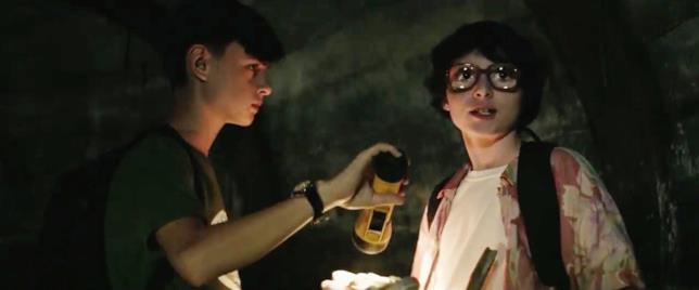Una scena di IT con Bill e Richie