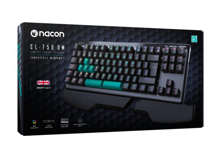 La confezione della CL-750OM di NACON