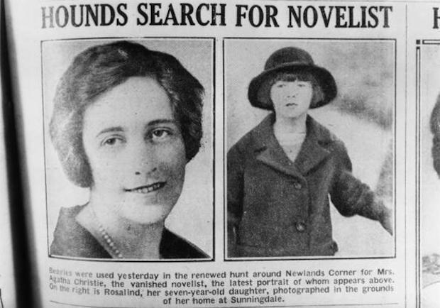 Un giornale locale annuncia la scomparsa della scrittrice