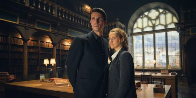 A Discovery of Witches: Matthew Goode e Teresa Palmer in un'immagine promozionale