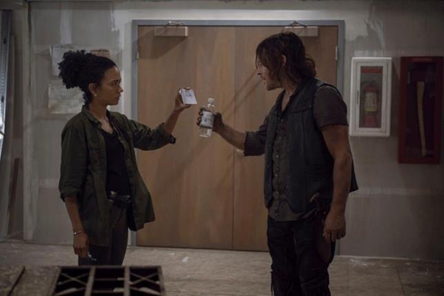 The Walking Dead: Connie e Daryl nell'episodio 9x13