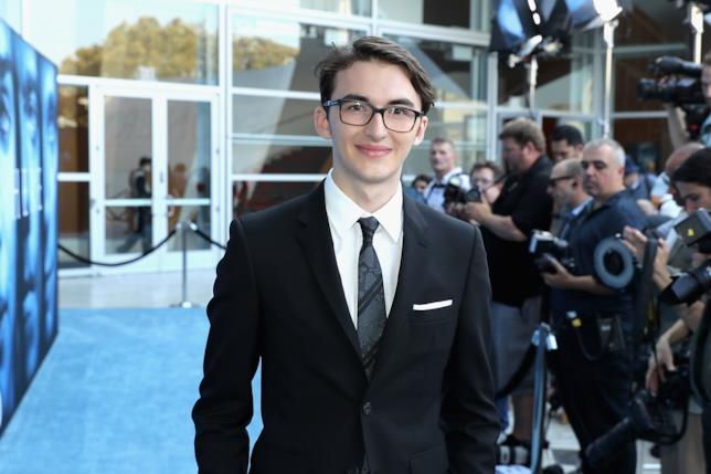 Isaac Hempstead-Wright alla première della scorsa stagione di Game of Thrones