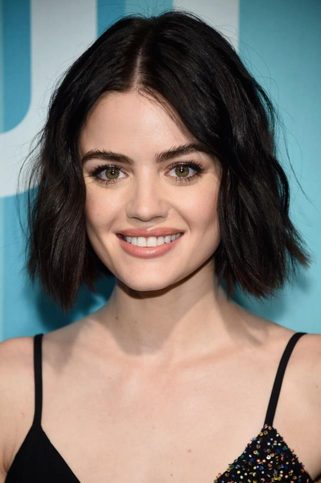 Lucy Hale in primo piano