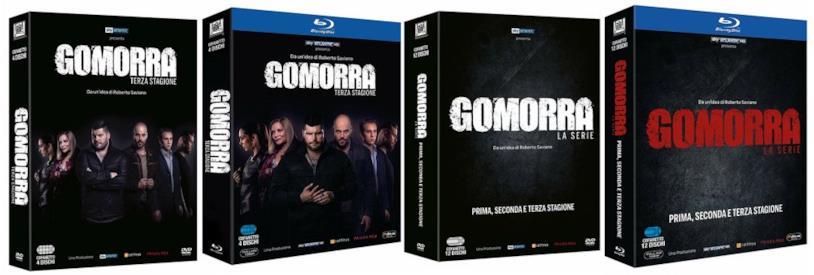Le cover di Gomorra - La serie