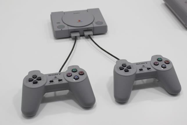Una foto promozionale di PlayStation Classic