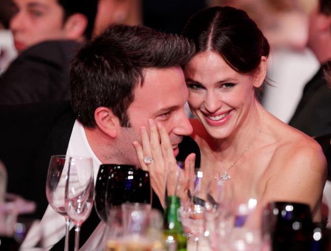 Jennifer Garner e Ben Affleck ai tempi della loro relazione