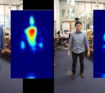 Il dispositivo RF Capture messo a punto dal MIT in azione