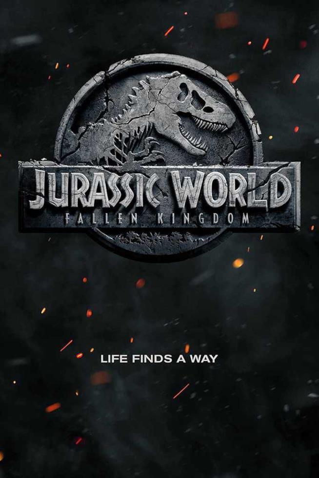 Locandina ufficiale di Jurassic World 2