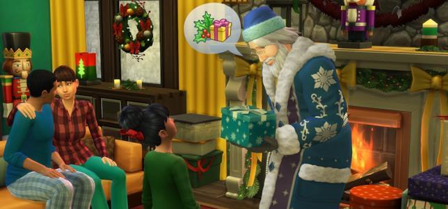 Le festività natalizie fanno arrivano in The Sims 4