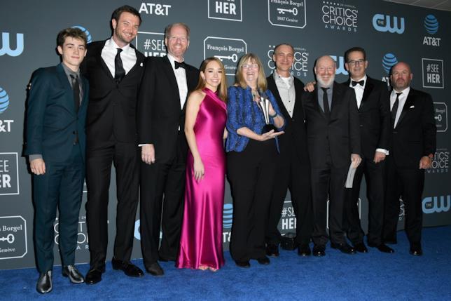Il cast di The Americans ai Critics Choice Awards 2019