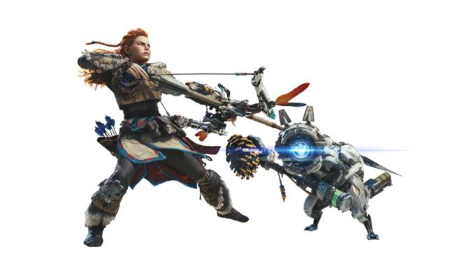 L'armatura di Aloy in Monster Hunter World