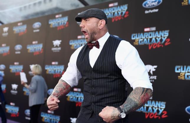 Dave Bautista interprete di Drax il Distruttore